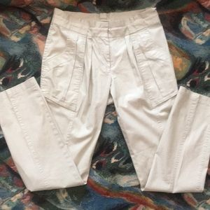 Worth NY paper bag waist Annie Hall style pants